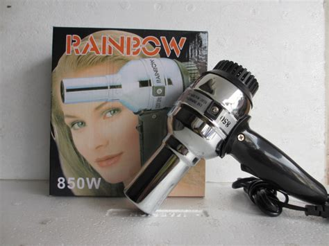 Hair Dryer Rainbow Murah grosir barang unik pengering rambut murah praktis hair dryer crown rainbow