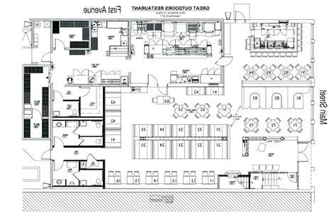 restaurant floor plan pdf interesting small restaurant kitchen floor plan commercial