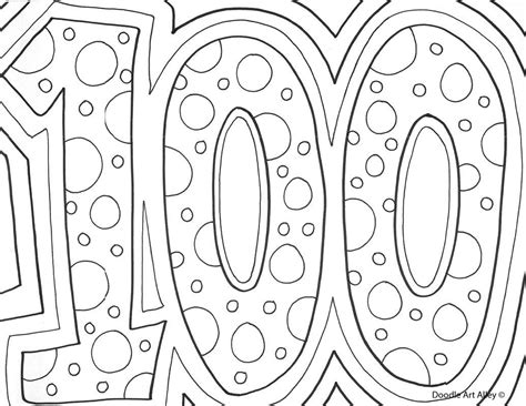 100 Coloring Pages 100 day printable coloring pages coloring pages for all ages coloring home