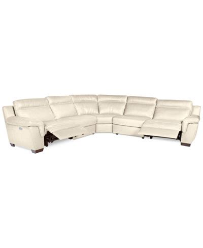macys ii leather sofa macys leather sectional sofa stacey leather 6