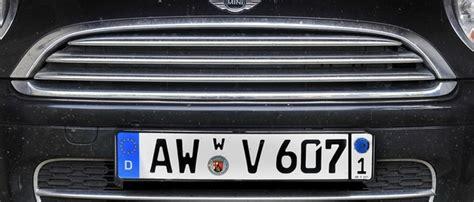 Versicherung F R Zwei Motorr Der by Das Wechselkennzeichen F 252 R Pkw Auto Www