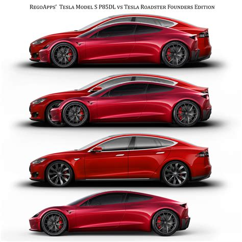 tesla s roadster tesla roadster vs model s size comparison teslamotors