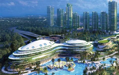 forest city housing china based developer launches 40bn mega city project
