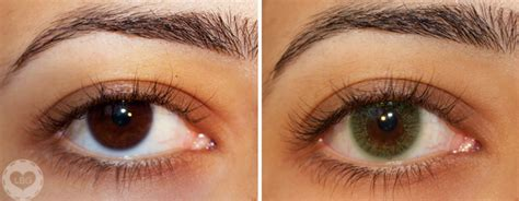 contact lense colors freshlook colors green contact lenses review photos
