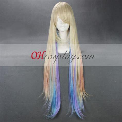 Rainbow B Wig Series japan harajuku series rainbow wig cosplaymades