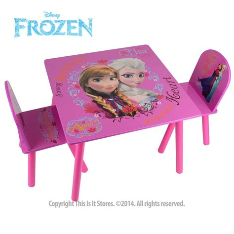 disney table and chair disney princess frozen furniture table and chairs set