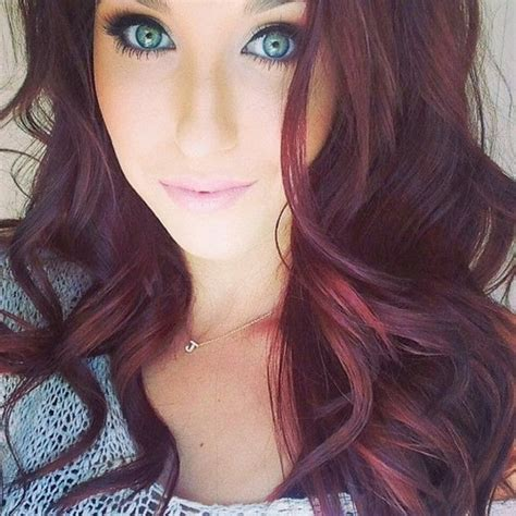cute burgundy highlights burgundy hair color highlights for 2014 2015 hairstyles