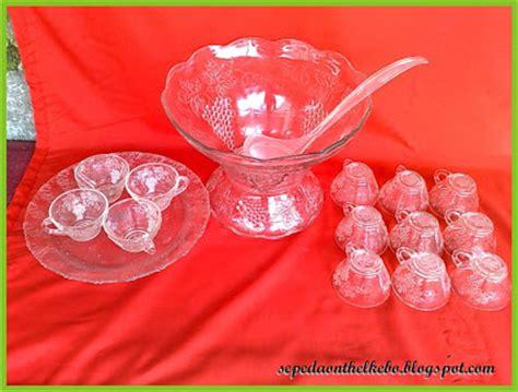 Set Tatakan Piring set tempat es buah terjual
