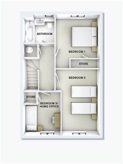 2 bedroom ground floor plan upton square aintree 2 storey 3 bedroom house