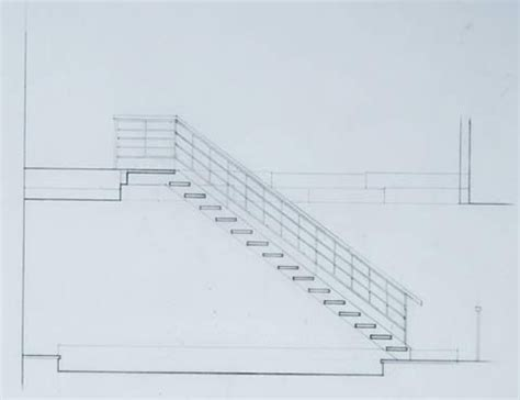 section drawing of staircase stairs architectural section drawing stairs pinned by www