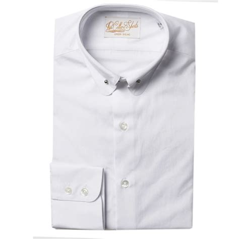 Handmade Mens Shirts - hawkins and shepherd pin collar shirts the shirt store