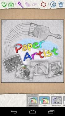 paper artist apk get galaxy note 2 photo editing app paper artist on android jelly bean