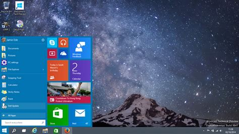 window technology windows 10 windows technical preview initial thoughts