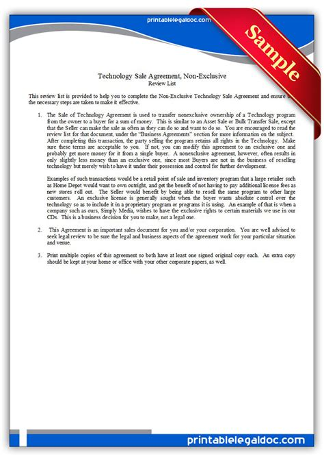 technology license agreement template best free home