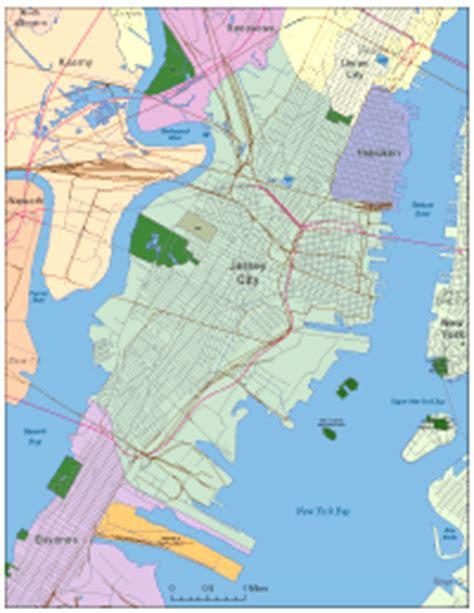 jersey city digital vector maps download editable