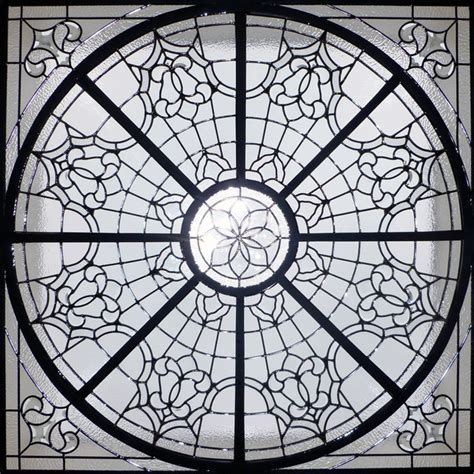 Glass Dome Ceiling by Decorative Ceiling Dome Traditional Skylights