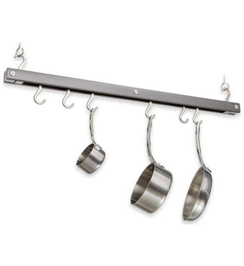 Hanging Pan Racks hanging pot and pan rack in hanging pot racks