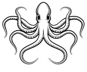 Octopus Template by Smiling Octopus Template 187 Designtube Creative Design