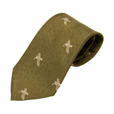Handmade Tie - bisley polyester tie shooting country