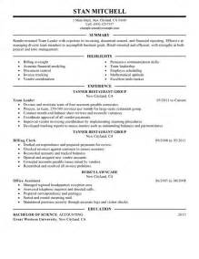 Leader Resume Exles Sle Leadership Resume 2016 Experience Resumes