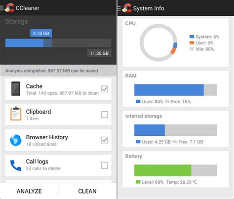 ccleaner android ccleaner llega para limpiar nuestros dispositivos android