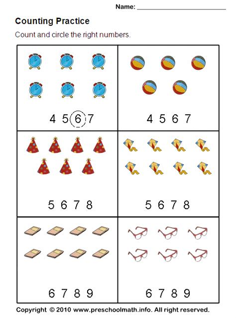 printable counting games for kindergarten counting balls 1 186 ano mat contagem imagens diferentes