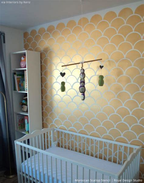5 baby room d 233 cor accent walls ideas with nursery stencils