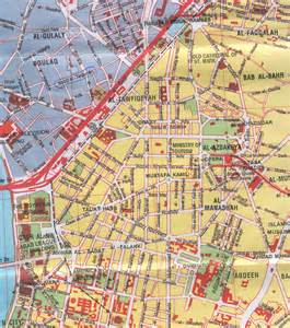 large cairo maps for free and print high