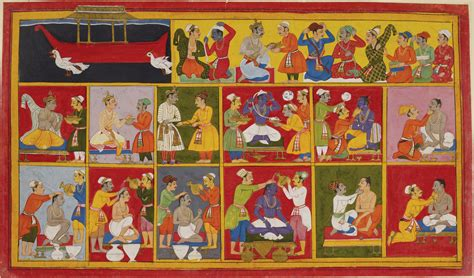 themes in indian literature eye burfi painting from the mewar ramayana rama and the