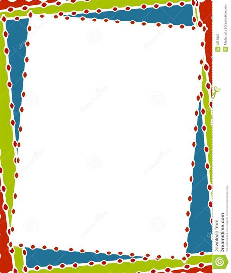 colorful borders colorful border clipart 65