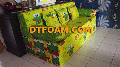 Sofa Bed Untuk Anak sofa bed inoac karakter kartun keropi untuk anak dtfoam