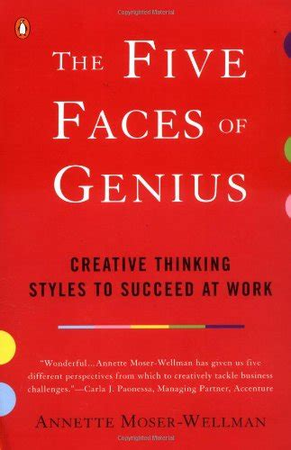 the five faces of genius creative thinking styles to