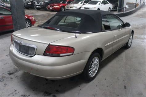 2004 Chrysler Sebring Convertible by Find Used 2004 Chrysler Sebring Convertible Lxi In