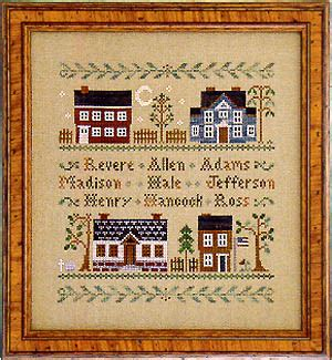 house pattern cross stitch little house needleworks colonial homes cross stitch