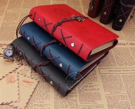 Buku Catatan Binder Note Classic Retro Pirate Ship Leat Diskon 1 buku catatan binder kulit retro pirate coffee