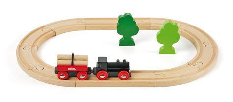 brio wooden train brio little forest train starter set brio wooden train