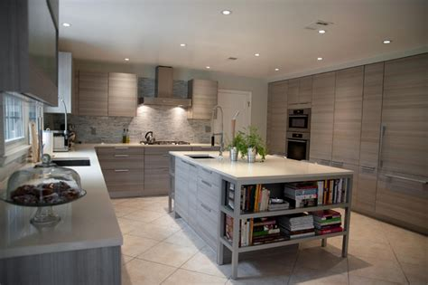 modern kitchen island houzz poggenpohl contemporary kitchen other metro by