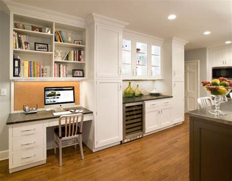 Kitchen Office Furniture 20 Clever Ideas To Design A Functional Office In Your Kitchen