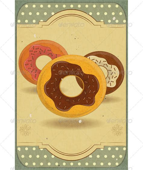 donut card template donuts for flyer template 187 dondrup