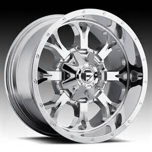 17 Inch Custom Truck Wheels Fuel Krank D527 Chrome Pvd Custom Truck Wheels Rims