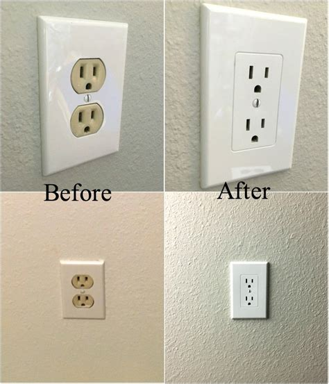 electrical outlet covers easy electrical outlet cover tip to fix mismatched electrical outlets and covers electrical