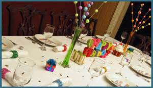 unique birthday centerpieces theme dinner party decorations