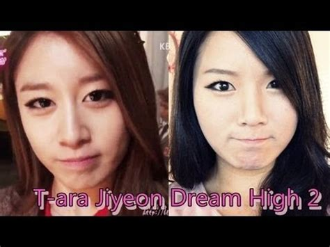 tutorial eyeliner jiyeon t ara jiyeon dream high 2 inspired makeup tutorial youtube