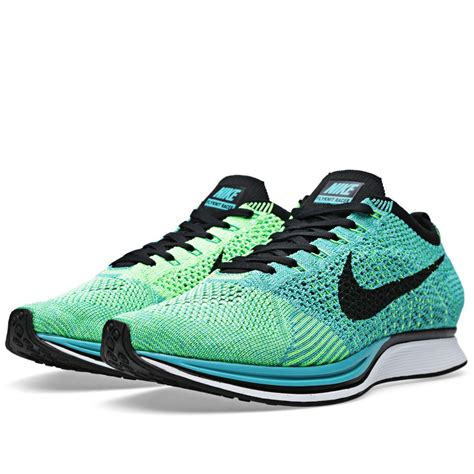 Nike Flyknite Racer Pria price 64 nike flyknit racer 526628 300 sport turquoise black s running shoes where to buy