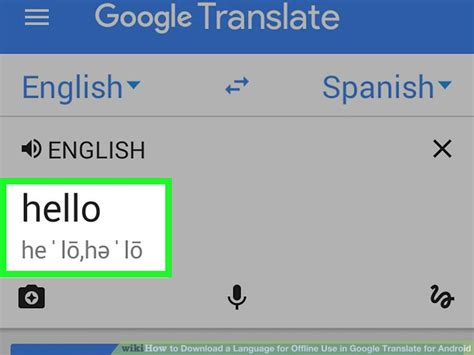 what language does android use how to a language for offline use in translate for android