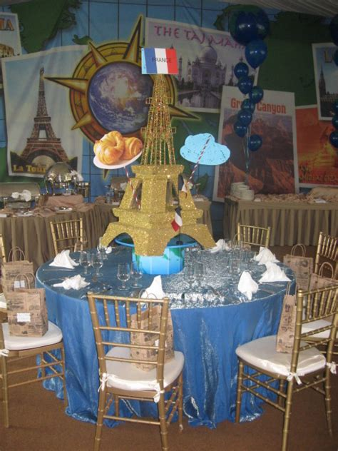 around the world centerpieces andrew flies class around the world at hamilton farm golf club 171 mmp entertainment