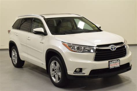 used toyota highlander hybrid certified pre owned 2016 toyota highlander hybrid for sale