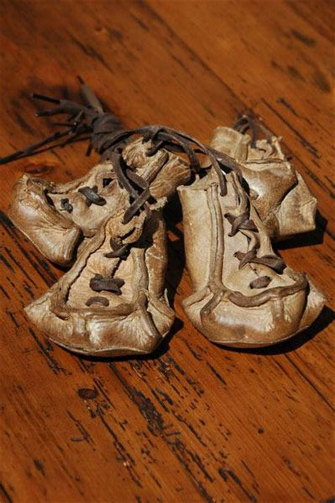 sled booties antique leather sled boots vintagewinter