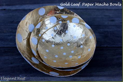 How To Make Paper Mache Bowls - nest paper mache bowls
