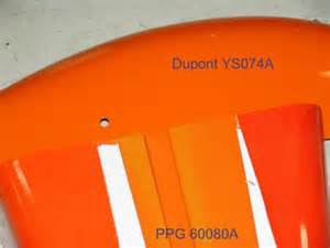 Porsche Orange Paint Code Paint Code For Allis Chalmers C Yesterday S Tractors